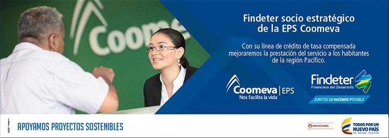 Findeter socio estratégico de Coomeva EPS