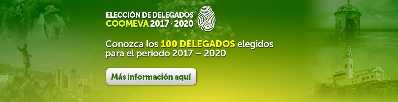 Conozca los 100 Delegados