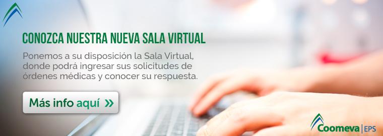 Conozca nuestra nueva sala virtual