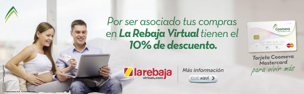 10% de dcto en La Rebaja Virtual