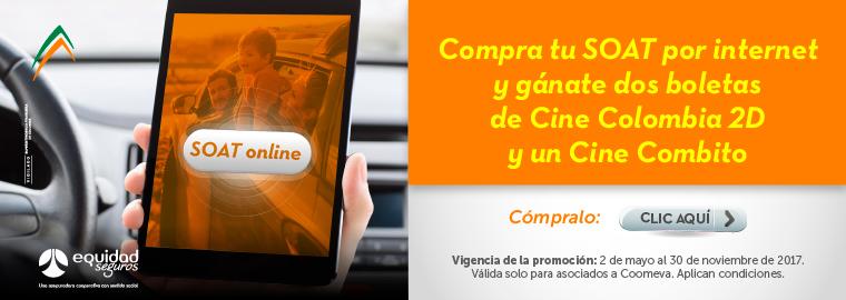 Compra tu SOAT por internet