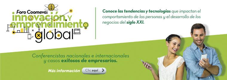 Foro Coomeva: Innovación y emprendimiento global
