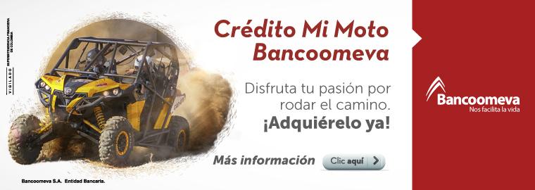 Crédito Mi Moto Bancoomeva