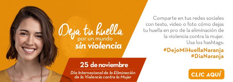 Noviembre 25 - Día internacional de la eliminación contra la mujer