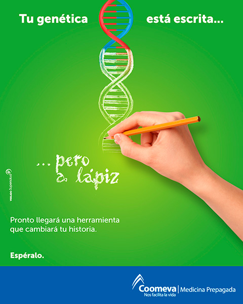 Tu genética está escrita...
