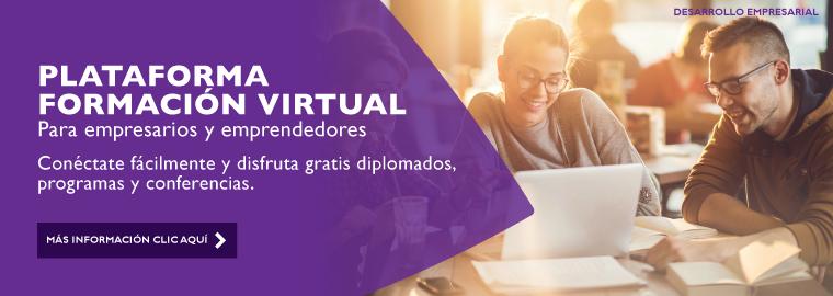 Plataforma de formación virtual