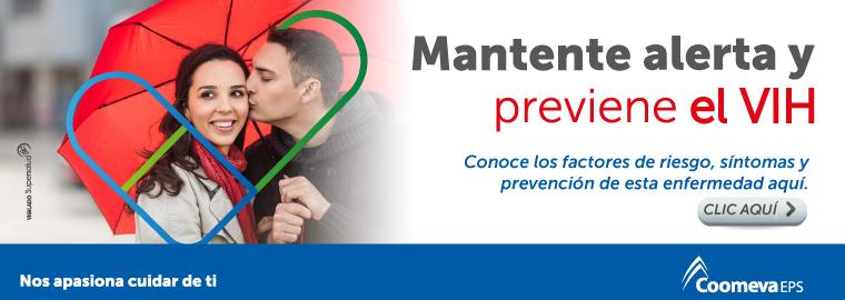 Mantente alerta y previene el VIH