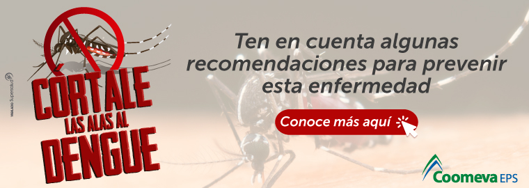 Cortale las alas al dengue