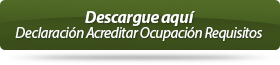 Descargue aqu� Declaraci�n Acreditar Ocupaci�n Requisitos